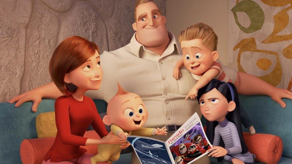 Los increibles · Disney Pixar