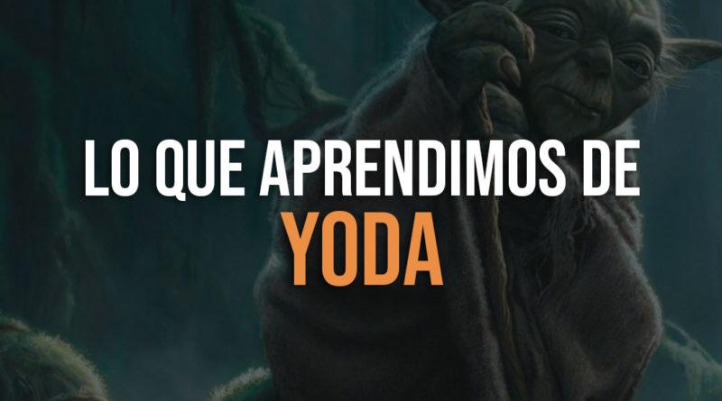 Lo que aprendimos de Yoda en Star Wars