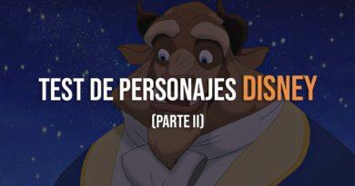 El test de personajes Disney Parte 2