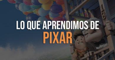 Lo que aprendimos de Pixar