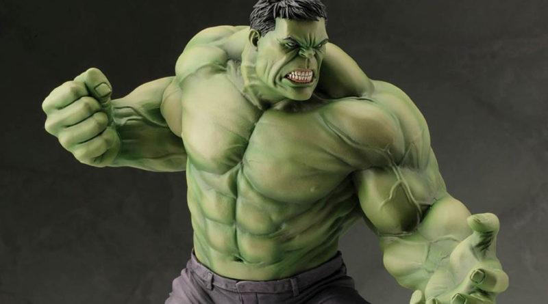 Estatua Hulk