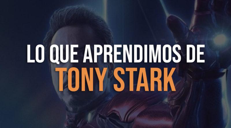 Lo que aprendimos de Tony Stark