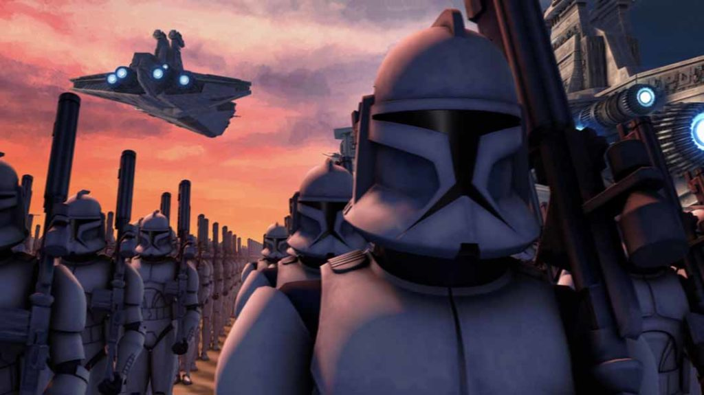 The Clone Wars · Disney