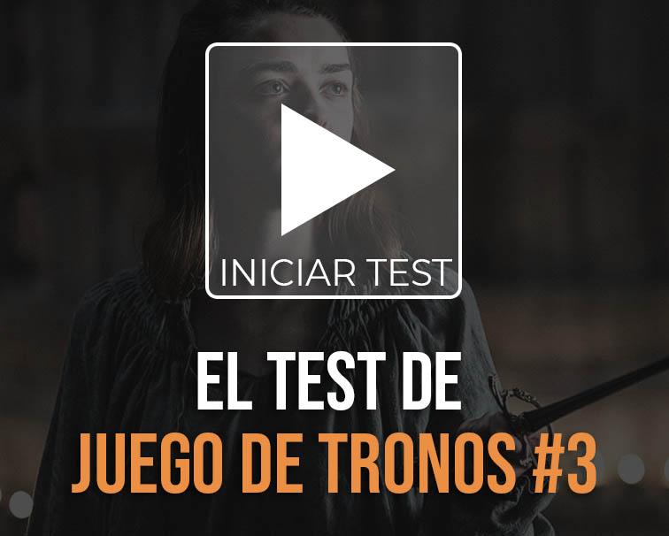 Test de juego de tronos
