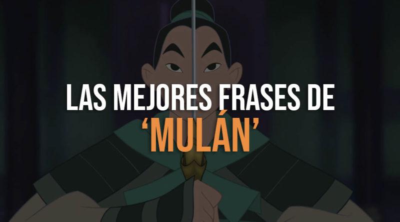 Mejores frases de Mulan