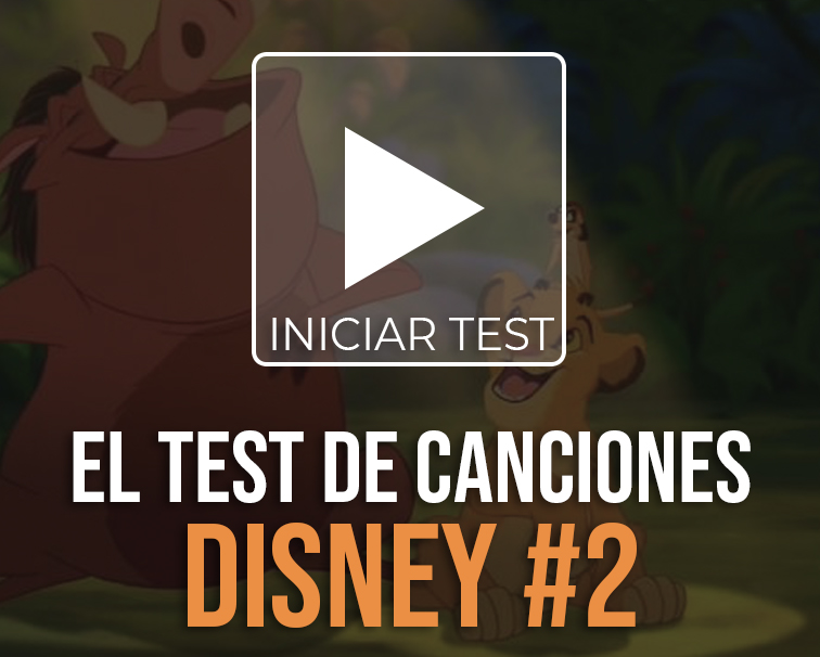 Test de canciones Disney
