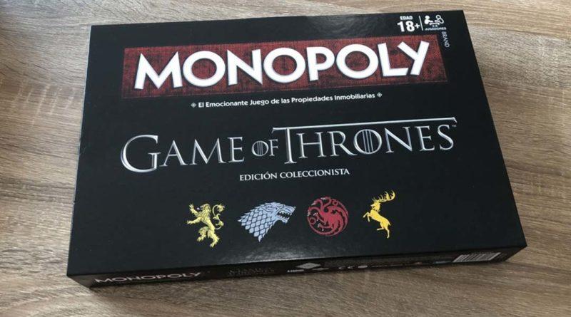 Monopoly de Juego de Tronos · Foto realizada por Friki Mestro