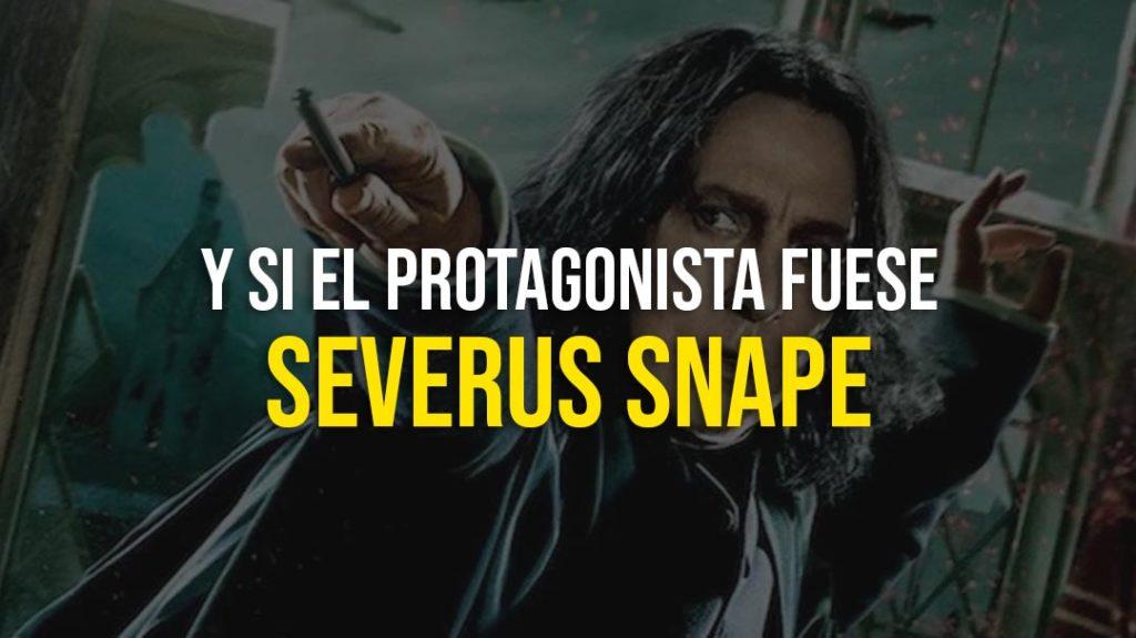 Harry Potter segun Severus Snape