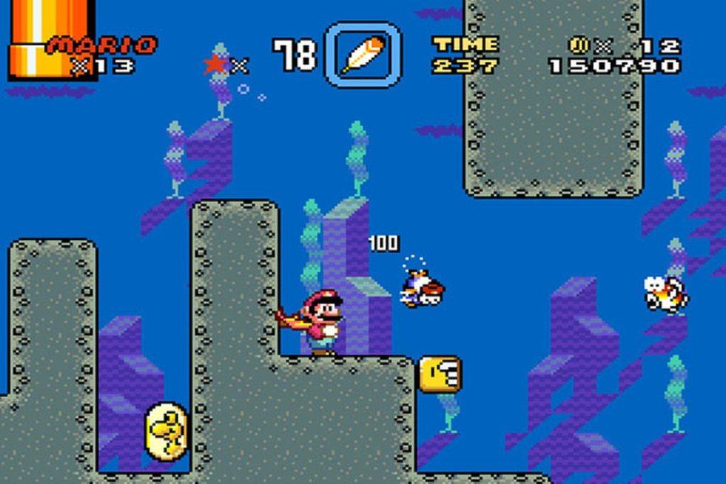 Super Mario World - Nintendo