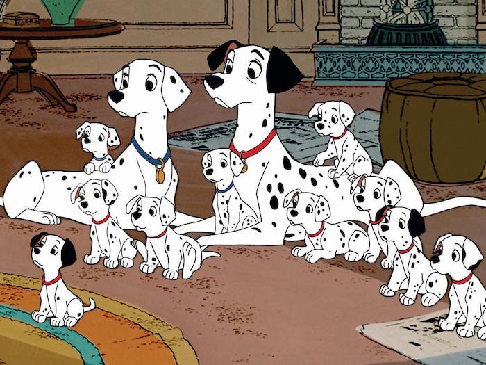 101 Dálmatas · Walt Disney Pictures