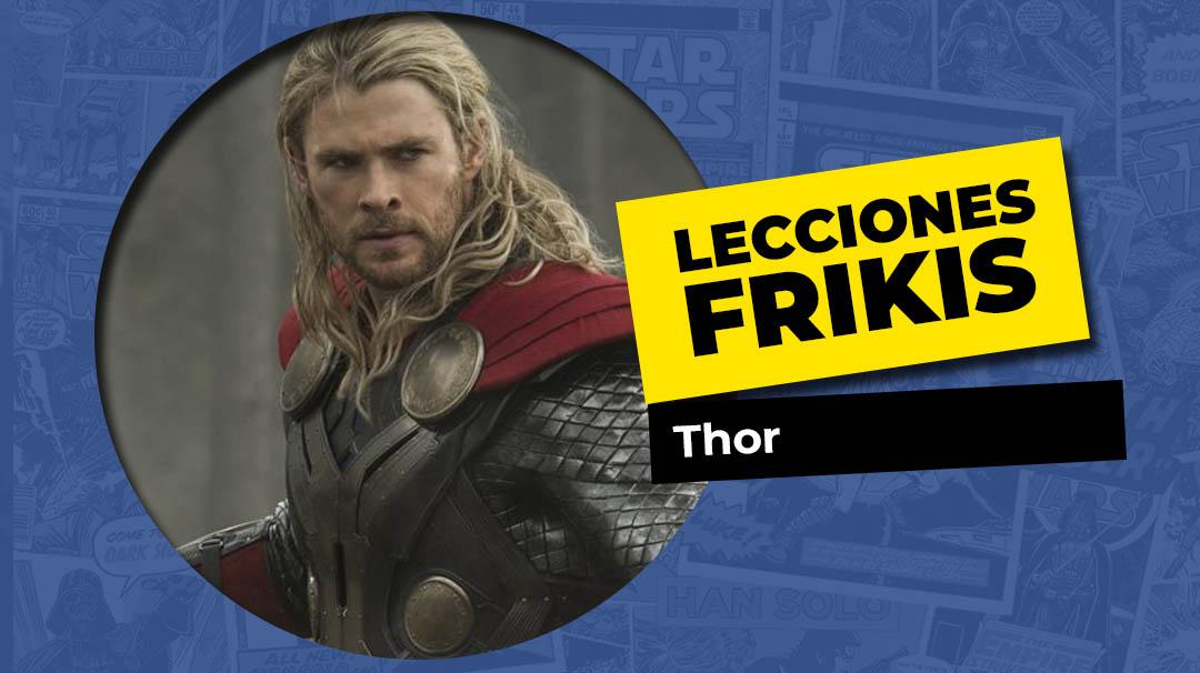 Lo que aprendimos de Thor