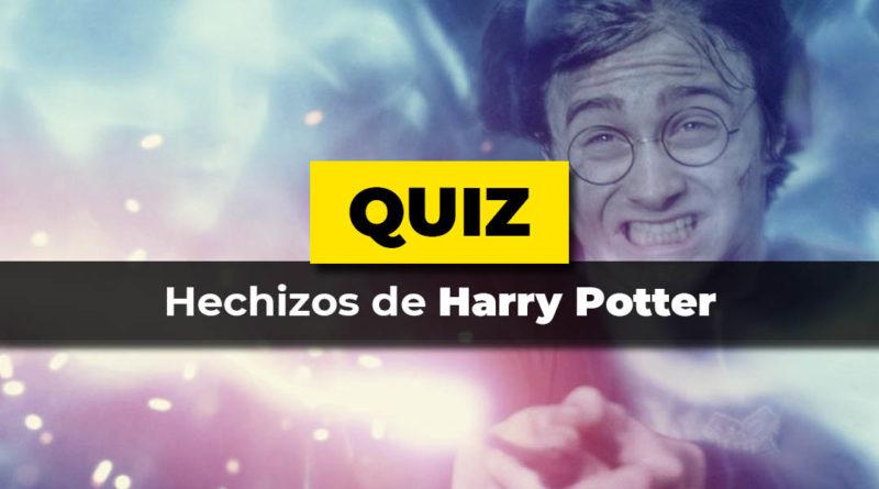 El test de hechizos de harry potter