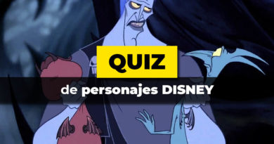 El test de personajes Disney