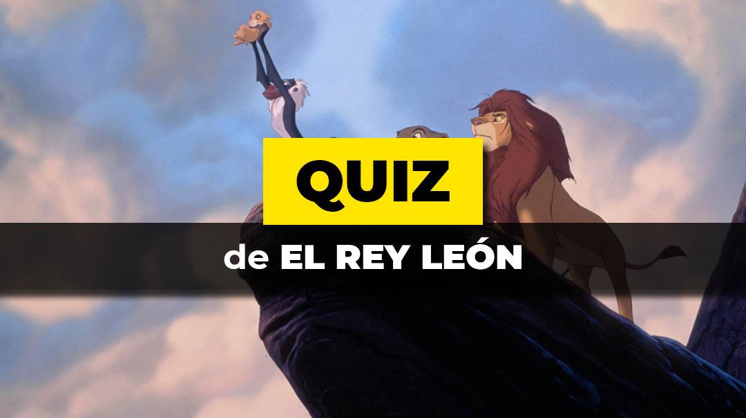 EL test de El rey leon