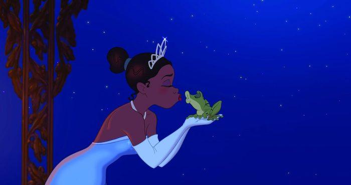 Tiana y el Sapo · Walt Disney pictures