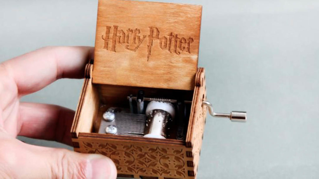 Caja musical de Harry Potter de Frikilandia