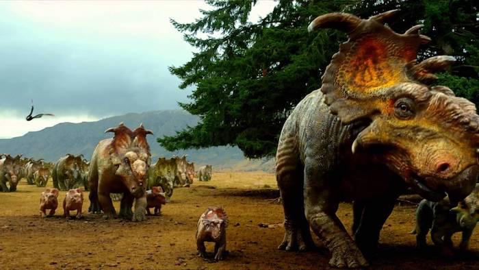 Caminando entre dinosaurios • BBC