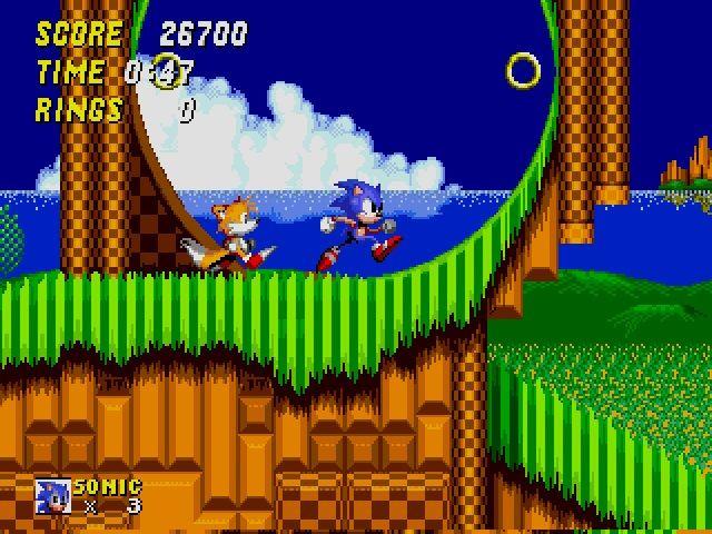 Sonic 2 - SEGA