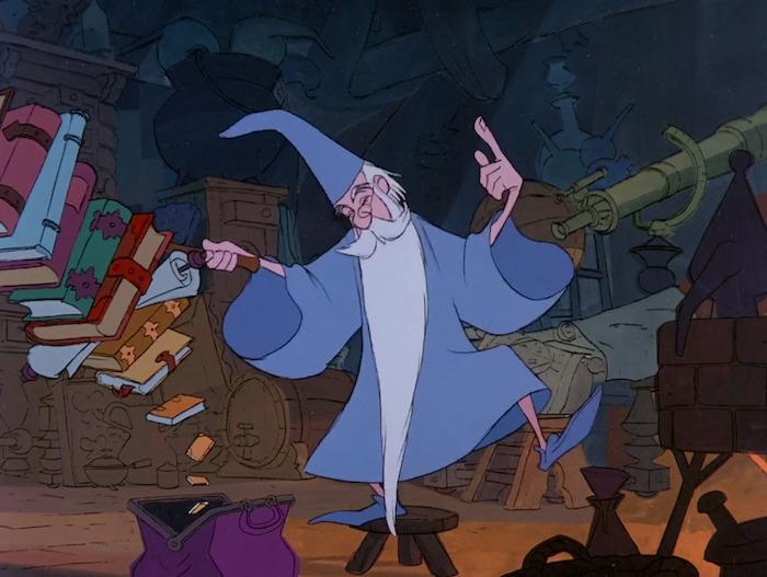 Merlín el Encantador · Disney