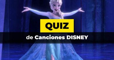 El test de canciones Disney