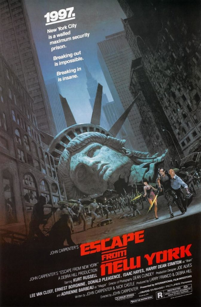 Escape from New York - AVCO Embassy Pictures
