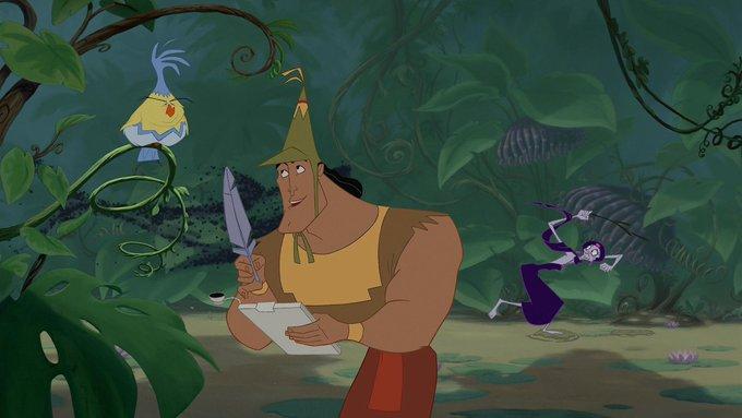 El emperador y sus locuras · Walt Disney Pictures