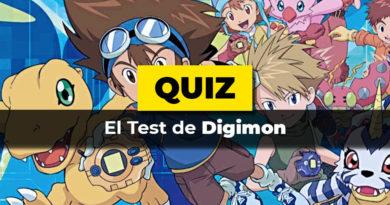 El test de Digimon