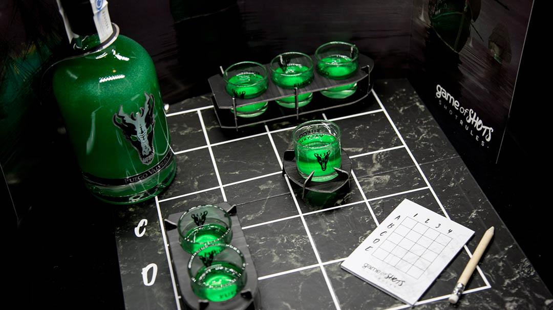 Game of Shots de Fuego Valyrio