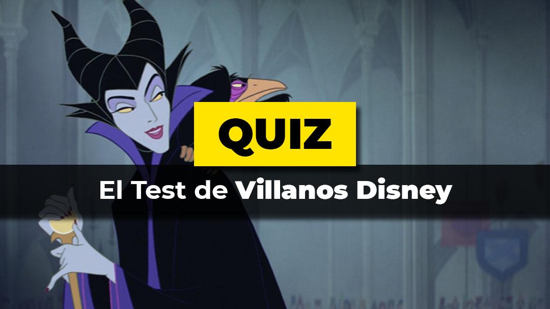 El test de villanos Disney