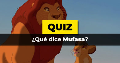 Test que dice mufasa
