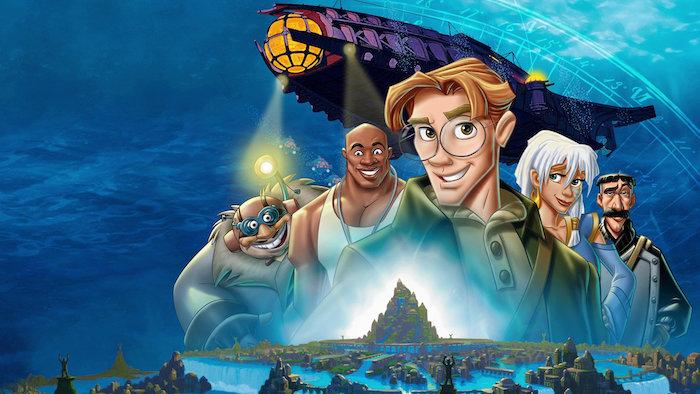 Atlantis: El imperio perdido • Walt Disney Pictures