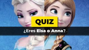 Eres Elsa o Anna