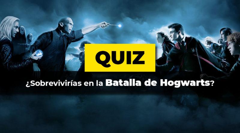 test Sobrevivirías a la batalla de Hogwarts