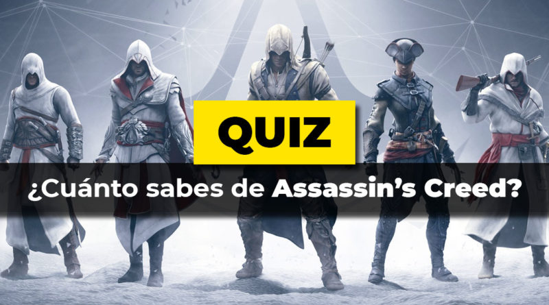 Cuanto sabes de Assassin's Creed