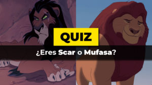 Eres Scar o Mufasa