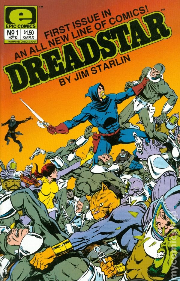 Dreadstar - Epic Comics