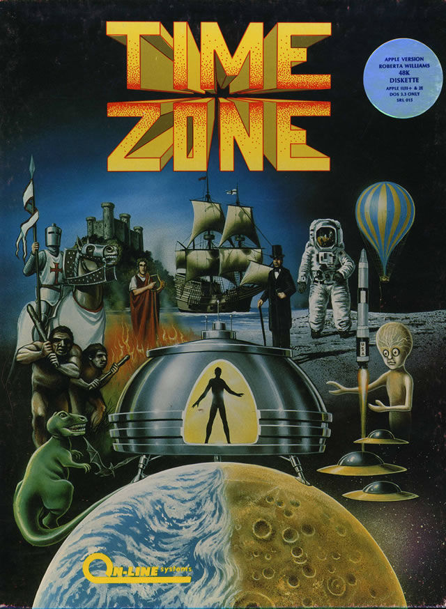 Time Zone - Sierra Entertainment