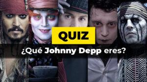Test de qué Johnny Depp eres