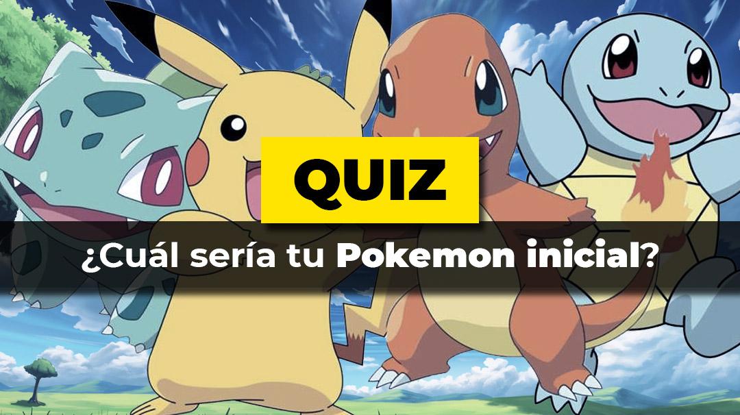 Cual sería tu Pokemon inicial