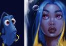 Artista reimagina a sus personajes favoritos