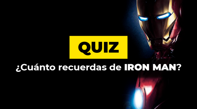 Quiz · Iron Man
