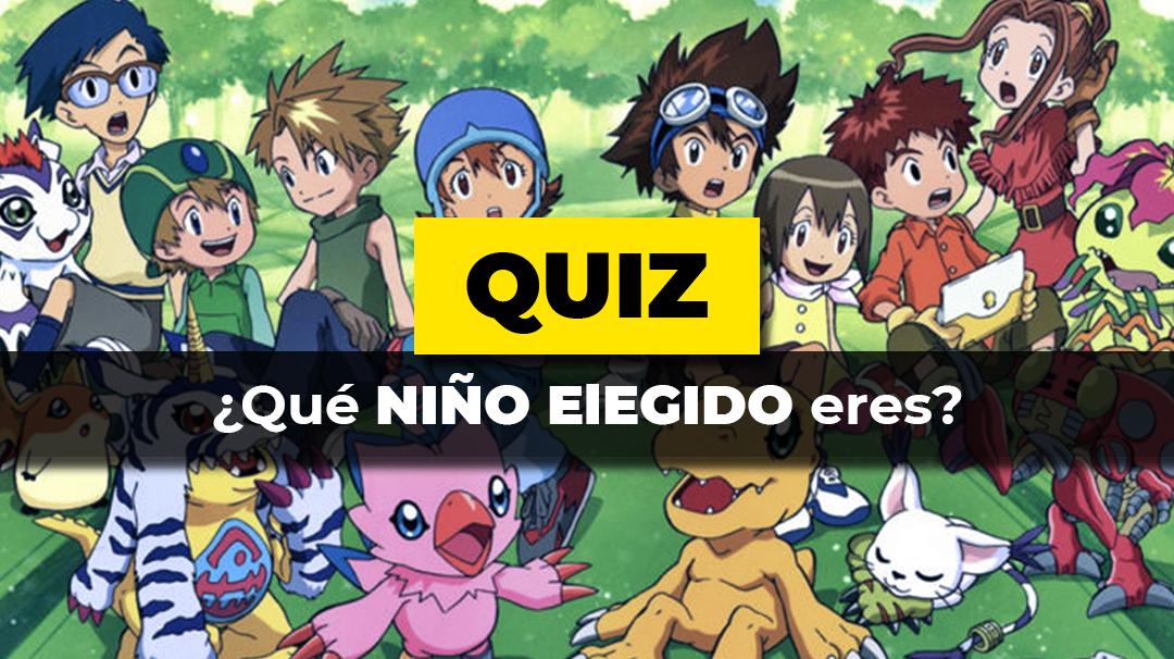 Quiz · Niño elegido Digimon