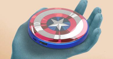 Baterías externas de Marvel