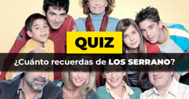 Quiz · Los Serrano