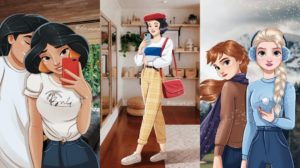 Así serían las princesas Disney si fueran millennials.