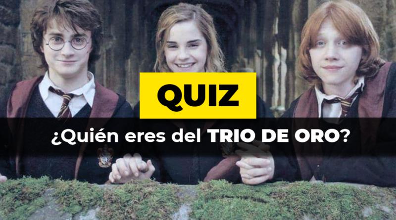 Quiz · Trío de Oro Harry Potter
