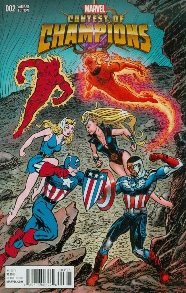 Contest of Champions 2 - Marvel Comics
