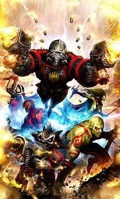Guardianes de la Galaxia - Marvel Comics