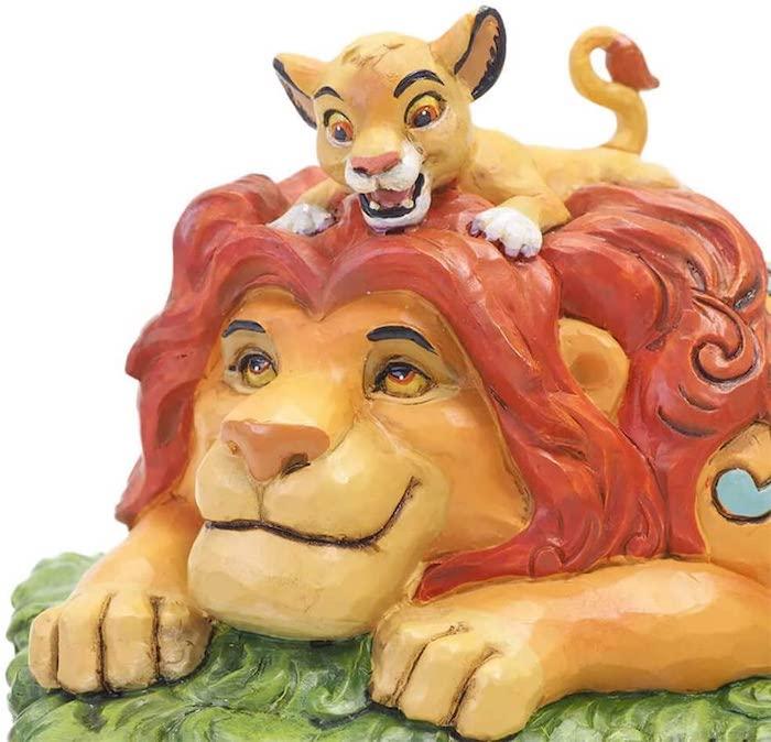 La figura más tierna de Mufasa y Simba