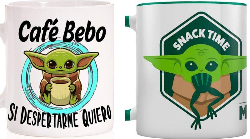 Taza de Baby Yoda
